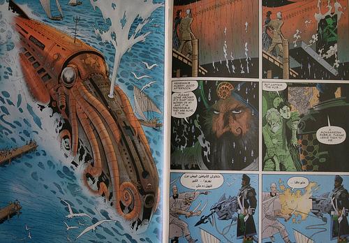 The Nautilus - League of Extraordinary Gentlemen