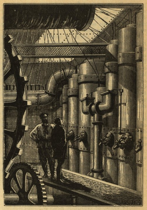 Engine room of the Nautilus