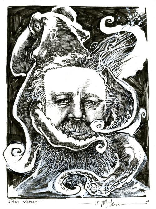 Jules Verne - by Ted McKeever