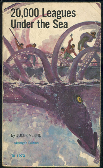 Image result for book cover 20000 leagues under the sea