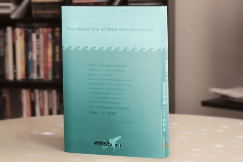 Dust jacket design 1, back and spine