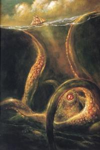 Kraken - Bob Eggleton