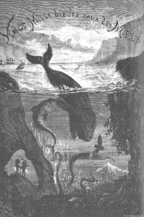 Title Page of 20,000 Leagues Under the Sea