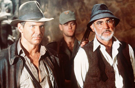 Indiana Jones and father, Henry Jones Sr.